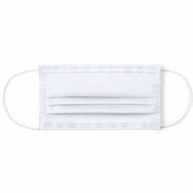 1x witte herbruikbare mondkapjes voor volwassenen masker