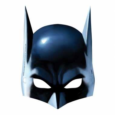 8x batman themafeest maskers