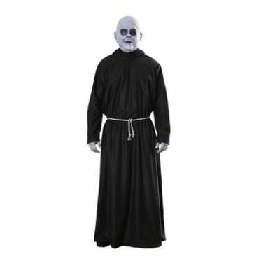 Addams family outfit van Fester masker