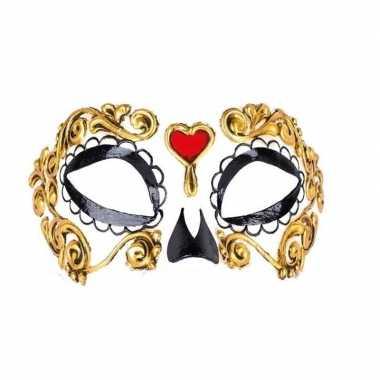 Barok oogmasker day of the dead