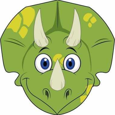 Dinosaurus maskers van karton