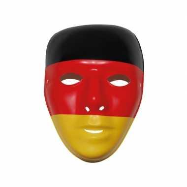 Duitse vlag masker