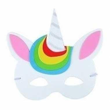 Eenhoorn oogmasker foam voor kinderen type 4