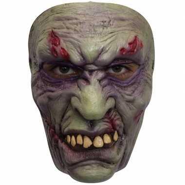 Ghoulish frankenstein latex masker voor volwassenen