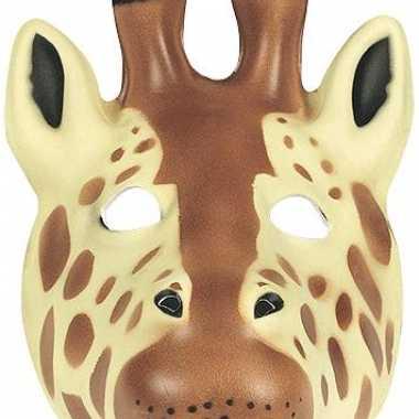 Giraffe masker soft foam materiaal