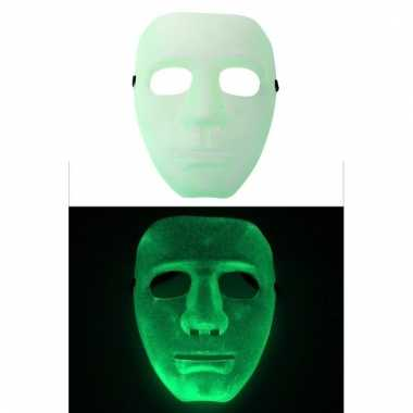 Glow in the dark masker voor volwassenen