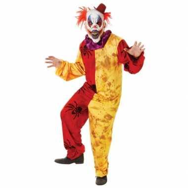 Kostuum Kopen Halloween.Halloween Kostuum Horror Clown Masker