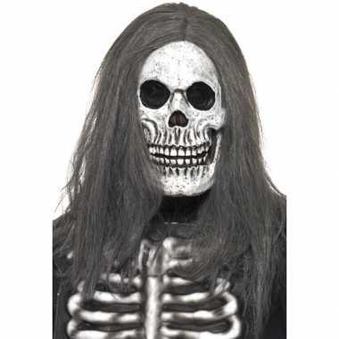 Skelet Voor Halloween.Halloween Masker Skelet Hoofd