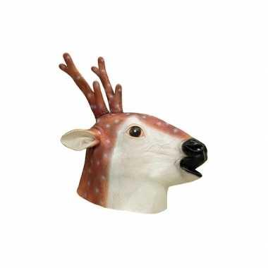 Hert verkleed masker van latex