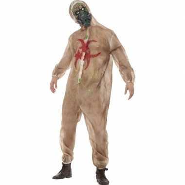 Horror biohazard zombie verkleedkleding masker
