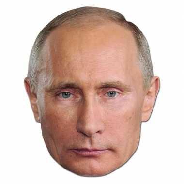 Kartonnen masker president rusland