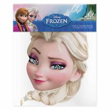 Kindermasker van elsa uit frozen