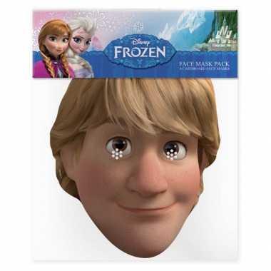 Kristoff Frozen kartonnen masker