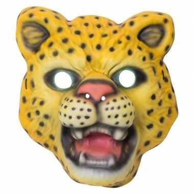 Luipaard/panter verkleed dierenmasker voor kinderen