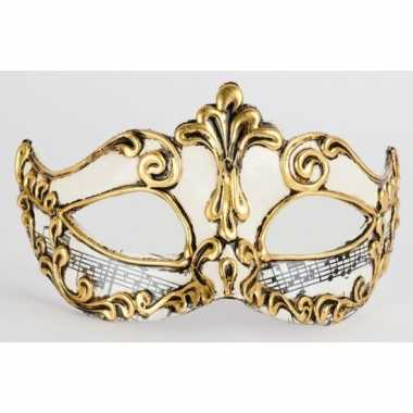 Muziek venetiaans masker handgemaakt