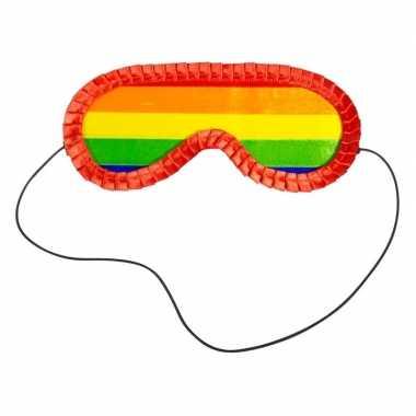 Pinata blinddoek regenboog masker