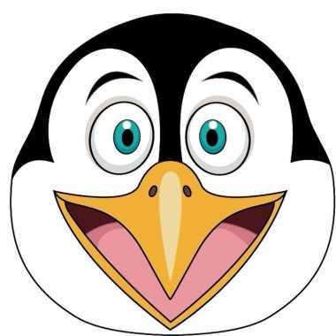 Pinguins maskers van karton