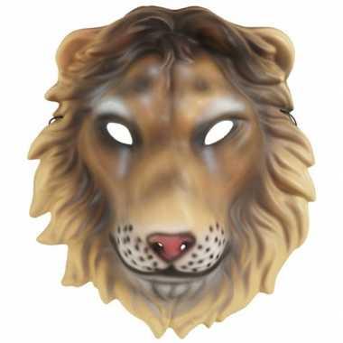 Plastic leeuwen kap masker