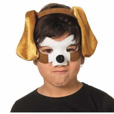 Verkleedsetje hond voor kinderen masker