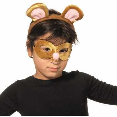Verkleedsetje muis voor kinderen masker