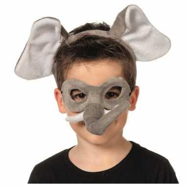 Verkleedsetje olifant voor kinderen masker