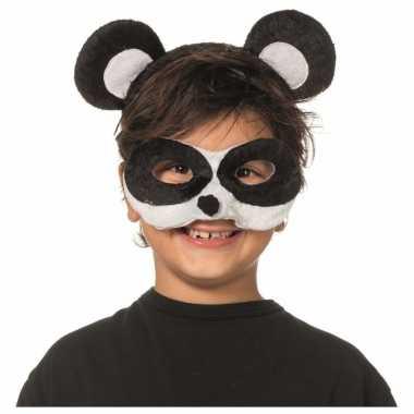 Verkleedsetje panda voor kinderen masker