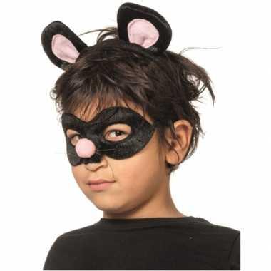 Verkleedsetje rat voor kinderen masker