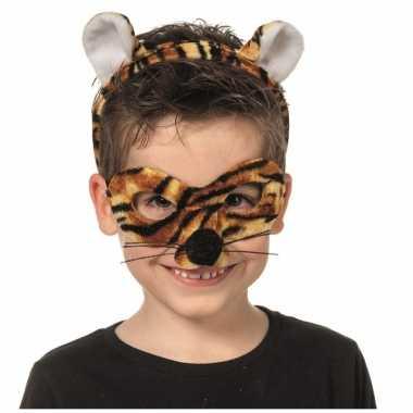 Verkleedsetje tijger voor kinderen masker