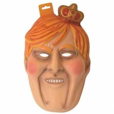 Willem Alexander masker