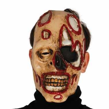 Zombie masker voor horror themafeest