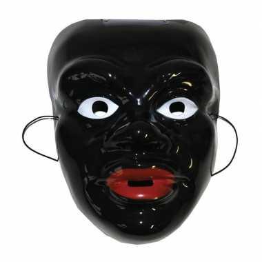 Zwarte Piet feestmasker