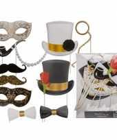 12 photo props glamour masker