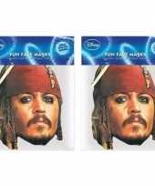 2x jack sparrow maskers