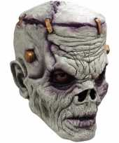 Ghoulish frankn zombie latex masker voor volwassenen