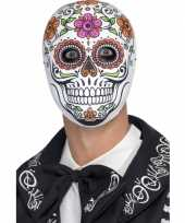 Halloween day of the dead senor bones masker