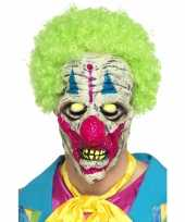 Halloween glow in the dark clowns masker