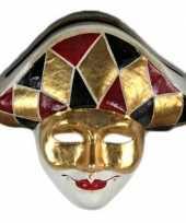 Harlekijn masker handgemaakt