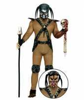 Monster kostuum met accessoires masker